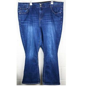 Lane Bryant High Rise Boot Medium Wash Jeans - 24